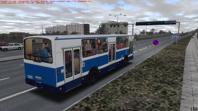 Głos Busera odc 1 Linia 129 Projekt Kraków '97 w OMSI 2