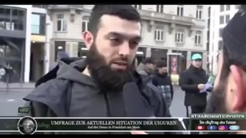 Genau zuhören was diese netten muslimischen Mitbürger zu sagen haben❗️