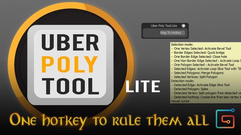 Uber Poly Tool Lite for Modo