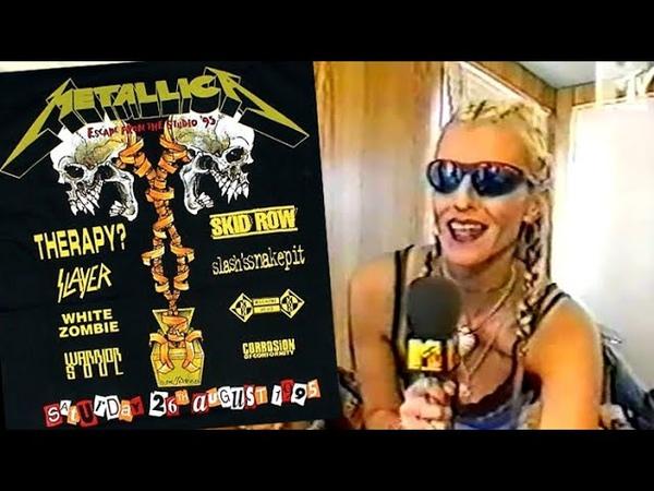 Monsters Of Rock Castle Donington 26 08 1995 TV Festival Report Headbangers Ball