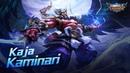 Kaja new skin   Kaminari   Mobile Legends: Bang Bang!