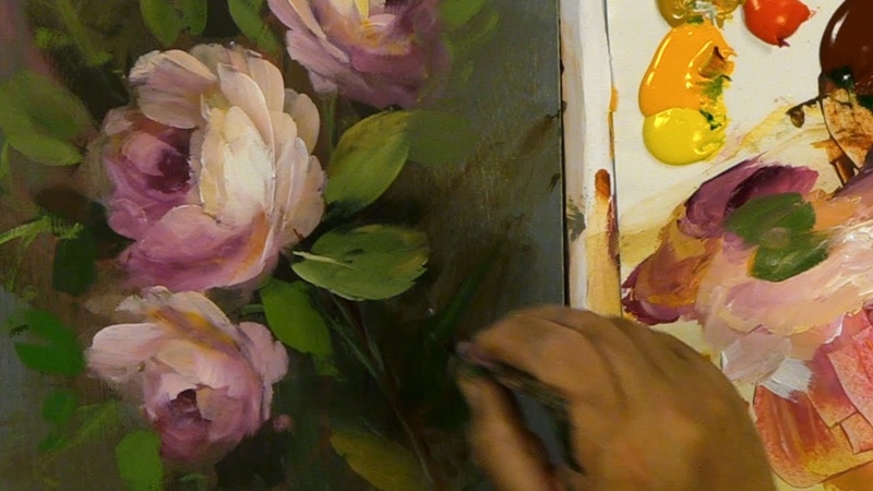 How To Correct Acrylic Roses- Halftones