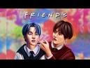 [Speedpaint] BTS Vmin - Friends