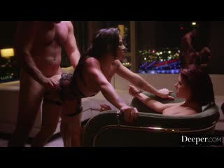 Pornomix / Lee, Chechik -  Family MILF  POV  Big Tits Pervmom Ha