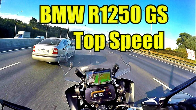 BMW R1250GS HP Top Speed
