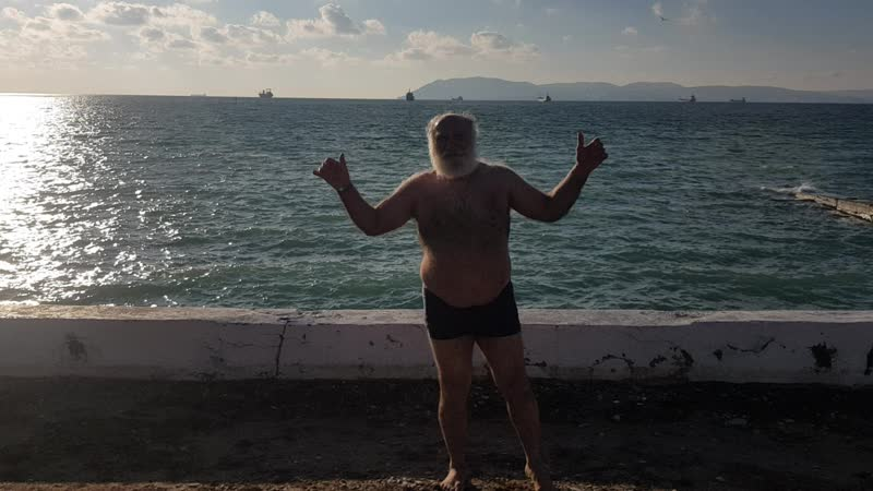 Дед Житель санатория Жемчужина моря Кабардинка 02 03 2021