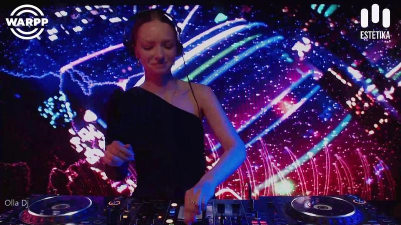 OLLA DJ Live @ESTETIKA event Warpp Club SPB 14.05.20