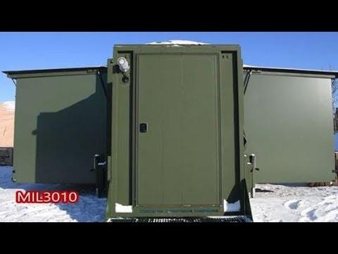 Новые палатки армии США для условий Арктики