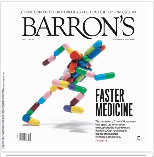 Barron's. September 28, 2020