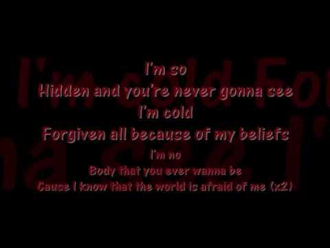 Twiztid~ Afraid of Me Lyrics