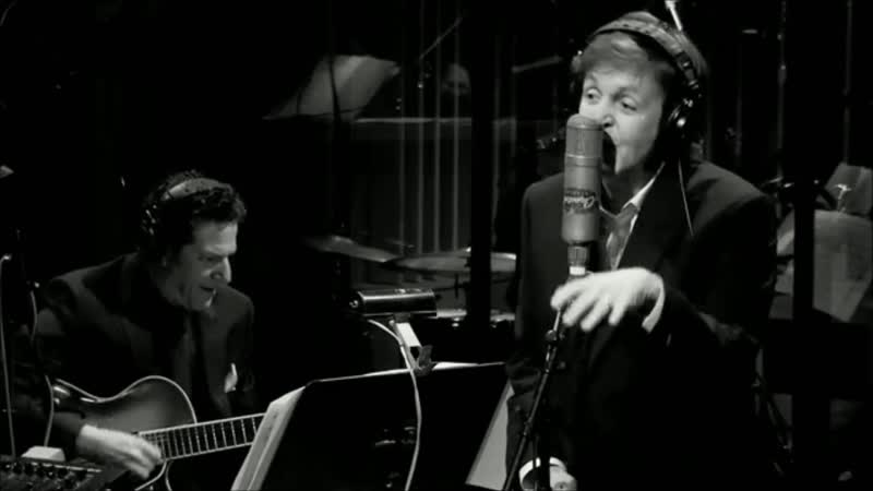 Paul McCartney Ac Cent Tchu Ate The Positive Live at Capitol Stidios Los Angeles in Holywood. February 9 2012
