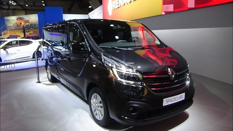 2020 Renault Trafic Grand Spaceclass dCi 170 EDC Exterior and Interior Auto Show Brussels 2020