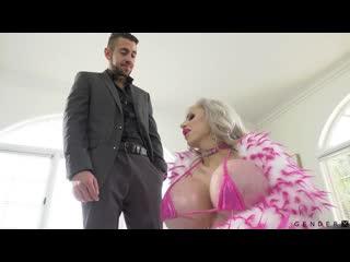 Juliette Stray - Trans Candy [HD 1080, Big Tits, Bimbo, Blonde, Blowjob, Cumshot, Silicone, Shemale, Trannssexual, TS, Сиськи]