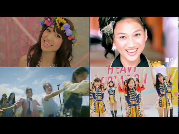 【MV Comparison】Heavy Rotation AKB48   JKT48   BNK48   SGO48