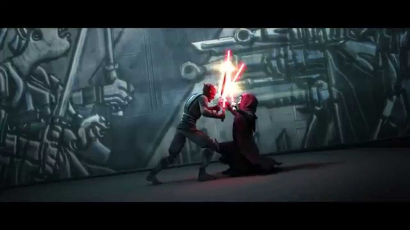 Star Wars: The Clone Wars - Darth Maul Savage Opress vs Darth Sidious [1080p]