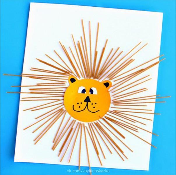 ПОДЕЛКИ «ЛЬВЯТА» Лев рычит и мается Грива не снимается.И ломаются расчёскиКаждый день в его причёске.Вот лохматость! Вот беда!Парикмахера сюда!Ю.