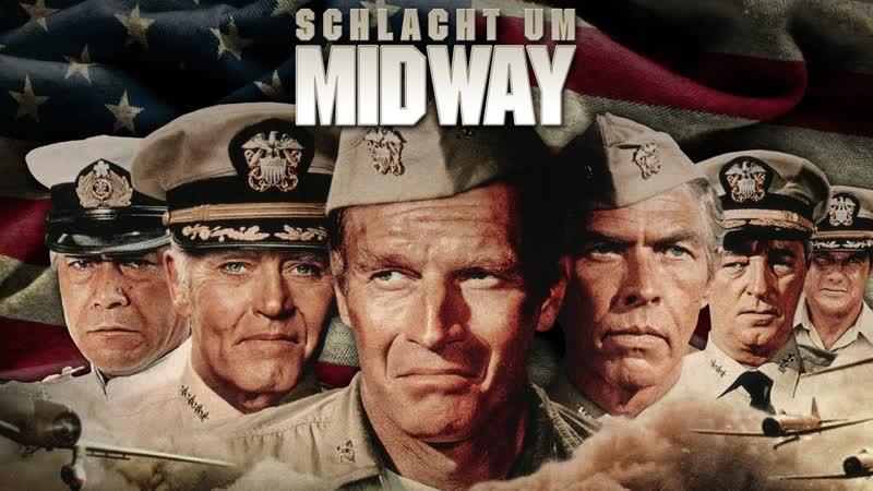 ➡ Мидуэй (1976) HD Перевод: Профессиональный, многоголосый.