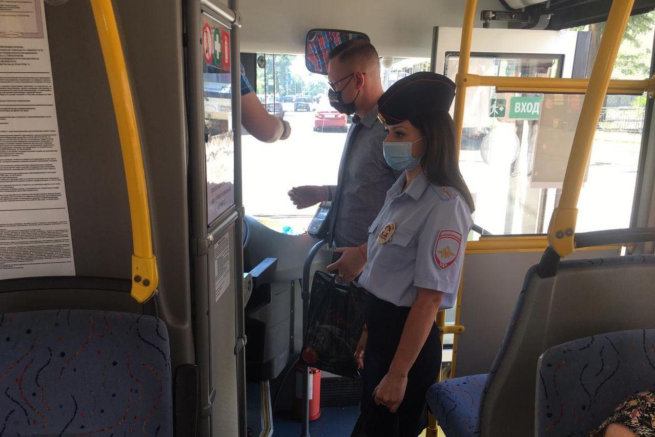 В Ростовской области проводят рейды по соблюдению масочного режима в общественном транспорте