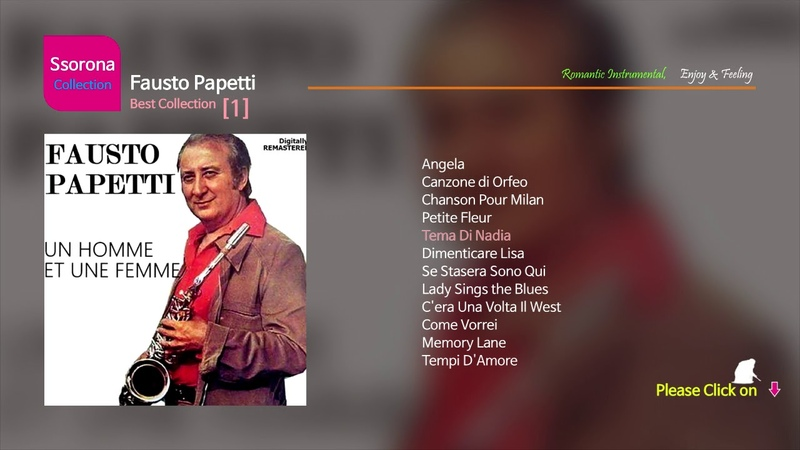 B 191 Fausto Papetti Best Collection 01 Repack