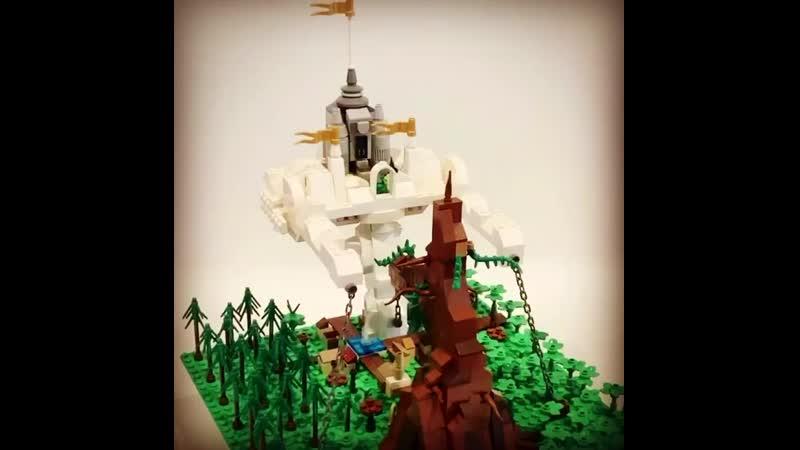 LEGO Воздушный замок