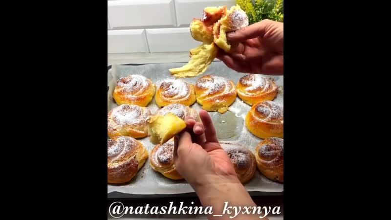 Творожные булочки с джемом