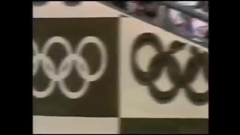 Олимпиада 1988 Сеул репортаж Советского телевидения Бен Джонсон допинговый скандал