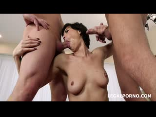 Russians Go Wet, Inna welcome to Porn with Balls Deep Anal, DP, Pee Drink, Gapes and Swallow GL151 sd