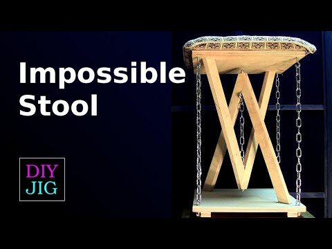 How to Make an Impossible Stool Tensegrity Stool DIY JIG