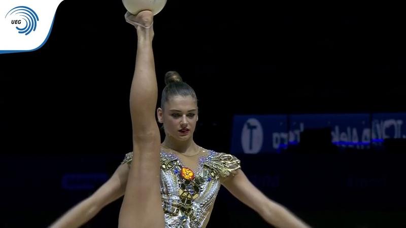 Aleksandra SOLDATOVA RUS 2019 Rhythmic Gymnastics European silver medallist ball
