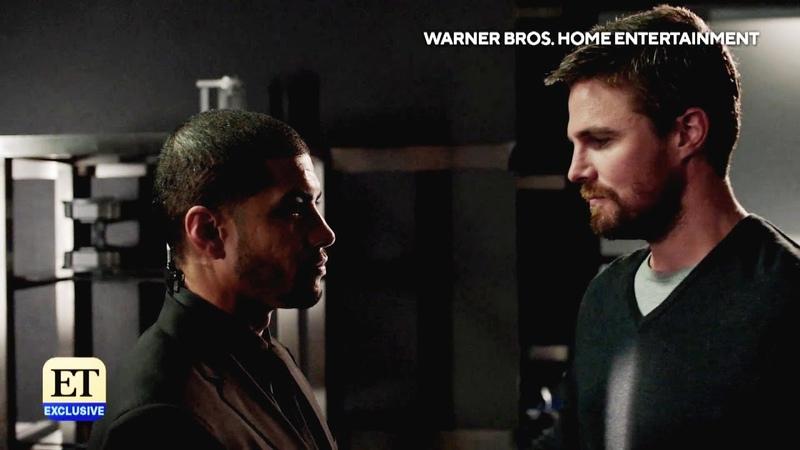 Arrow 8x01 Deleted Scene Oliver Threatens Rene's Job