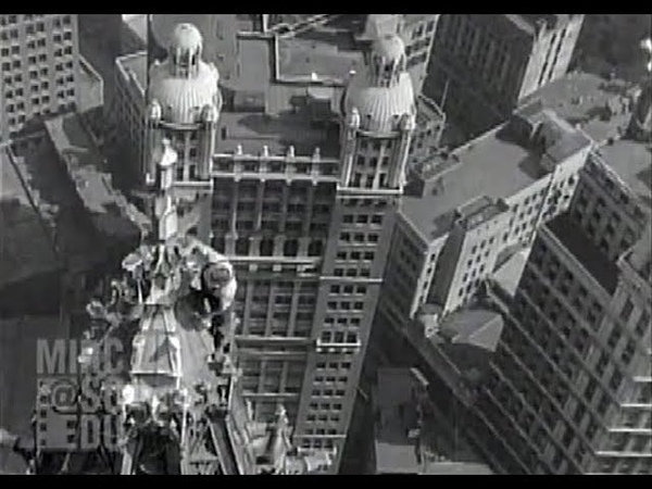 Atop the Woolworth Building 1929