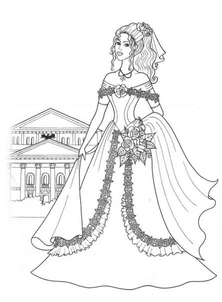 Предлагаю вам серию раскрасок для девочек 3 часть - принцесс Картинки можно распечатать на принтере. Сохраняйте себе на странички. И занят и