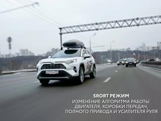 Настя Нифонтова на новом RAV4