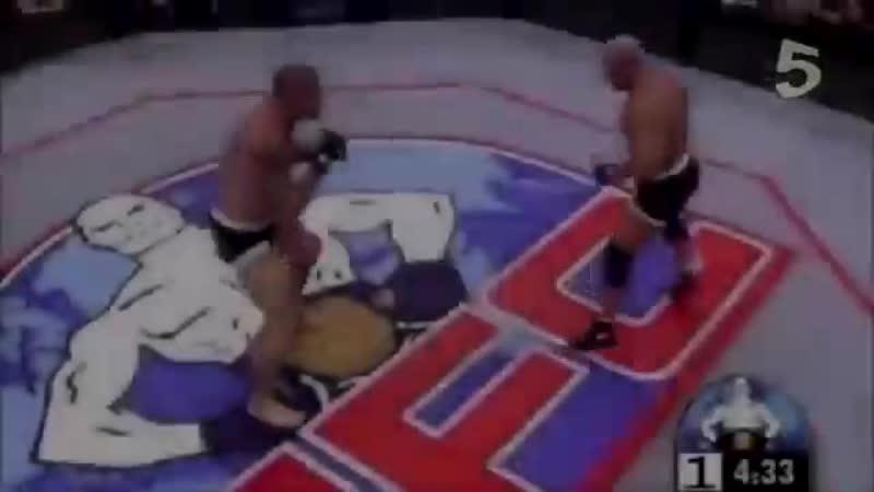 Самые крутые нокауты в UFC
