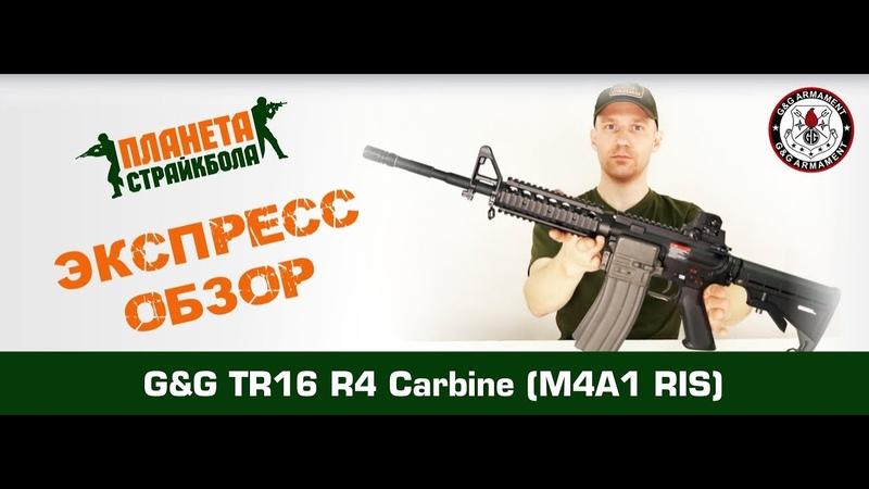G G Автомат M4A1 RIS TR16 R4 Carbine