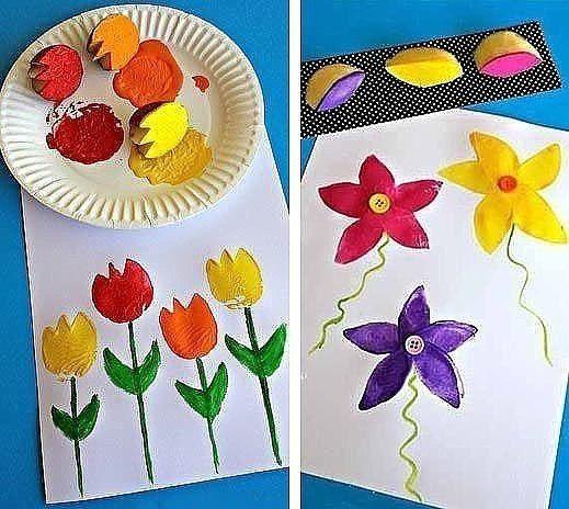 РИСОВАНИЕ КАРТОФЕЛИНКАМИ Весёлое творческое занятие для детей.