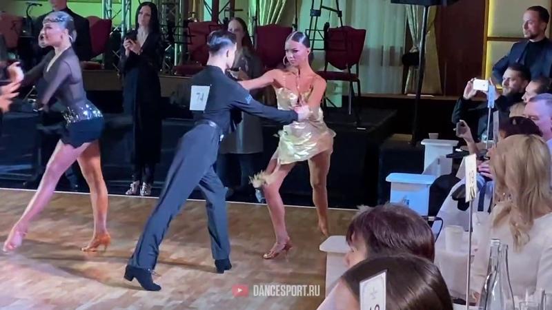 Ravlyk Artur Margita Solomiya UKR Samba Crystal Ball 2020