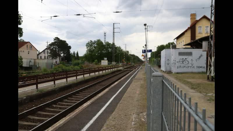 Вокзал Вюнсдорфа чудом сохранился. Капитальная реконструкция отложилась.