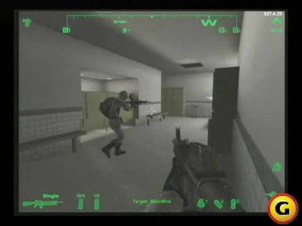 America's Army Gameplay Footage 2002