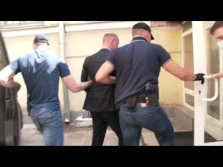 ФСБ опубликовала видео задержания Ивана Сафронова