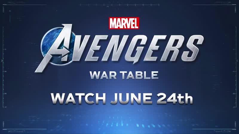 Геймплей игры Marvel's Мстители в прямом эфире 24 июня
