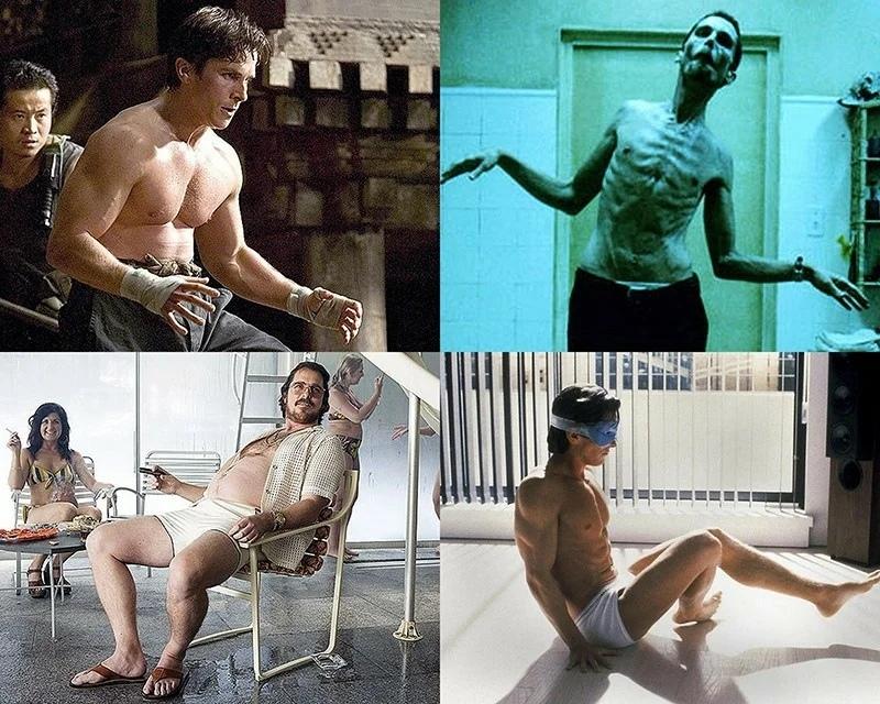 Безумная трансформации актеров ради роли