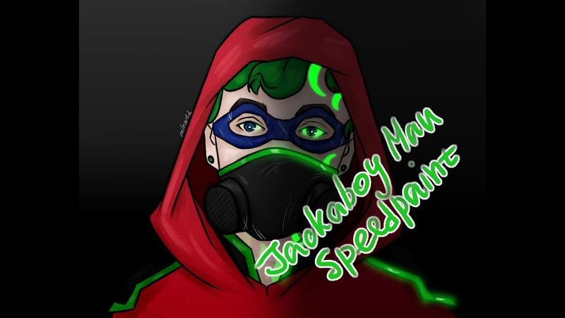 Jacksepticeye Speedpaint| Jackaboy Man