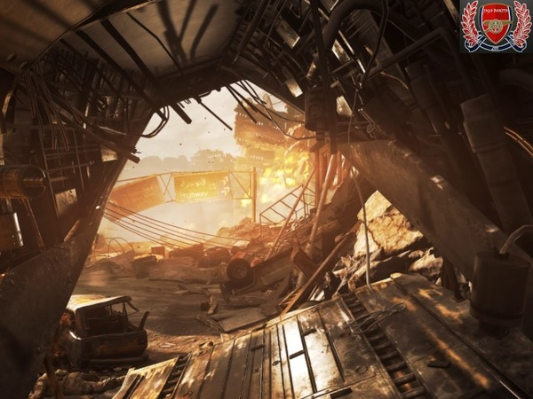 Ядерный взрыв Call of Duty Modern Warfare Remastered