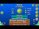 Sonar 100% all coins by JerkRat and Minesap geometry dash