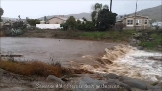 San Diego rain/Flooding 2016
