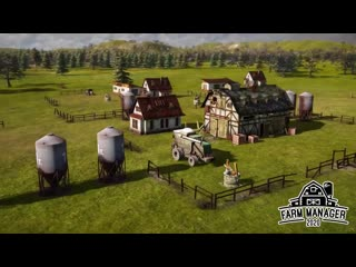 FARM MANAGER 2020 - New Game Trailer - Upcoming Simulation Building Game 2020