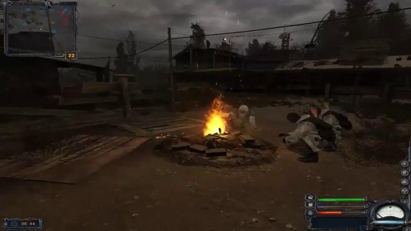 S T A L K E R Видео урок Меняем оружие броню у нпс