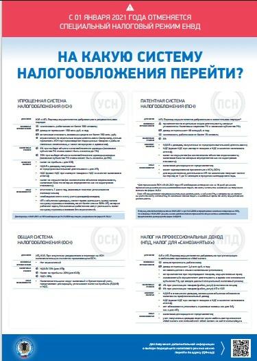 С первого января 2021 года отменяется специальный налоговый режим ЕНВД