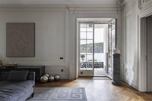 Мечта о Скандинавии: белый дом в Швеции || 01